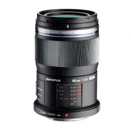 Obiettivo Olympus M.Zuiko Digital ED 60mm f/2.8 Macro Lens