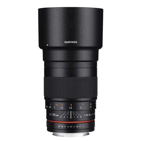 Obiettivo Samyang AE 135mm f/2.0 ED UMC x Nikon Lens