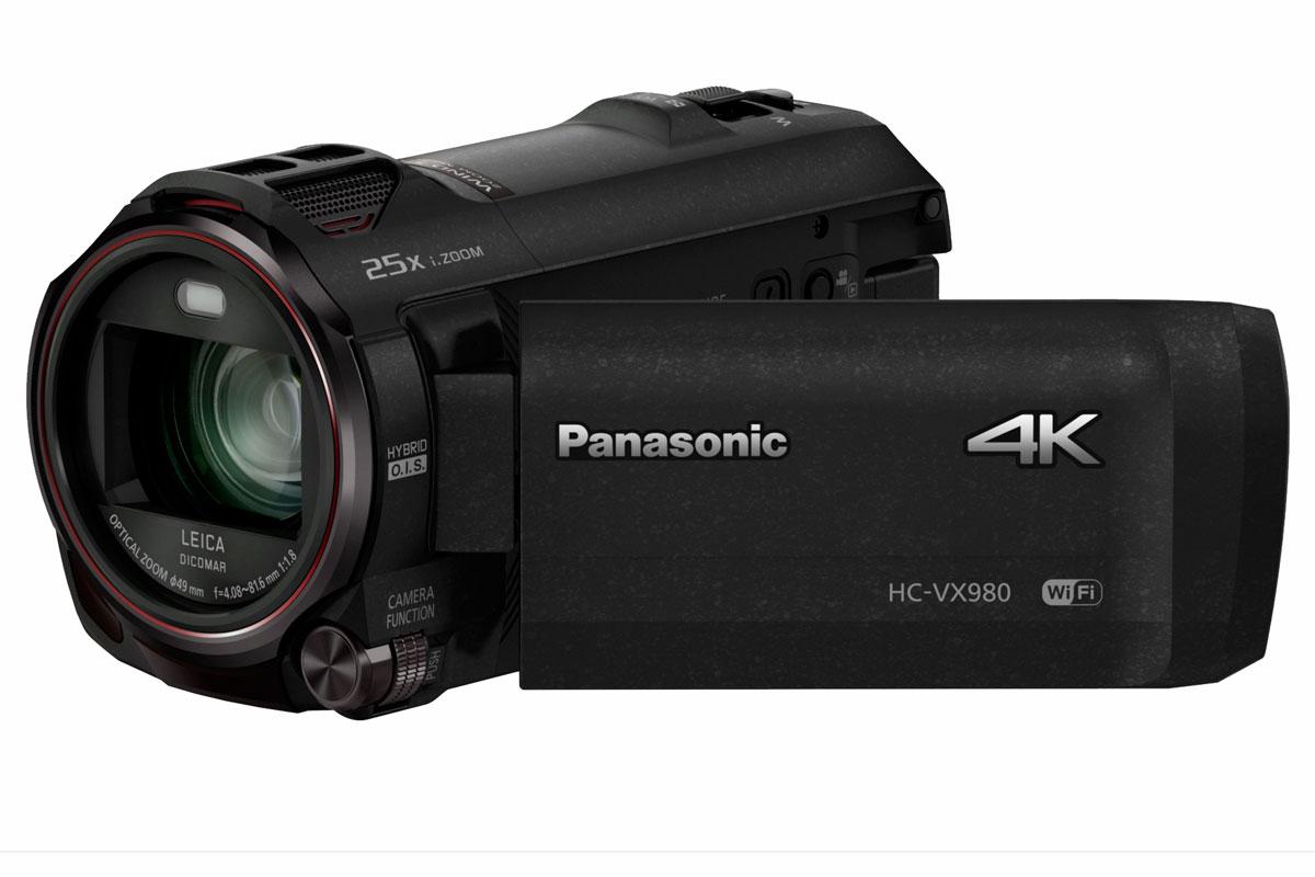 Panasonic HC-VX980 Ultra HD 4k