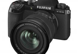 Nuova Mirrorless Fujifilm X-S10, design digitale, dimensioni compatte semplicità d'uso